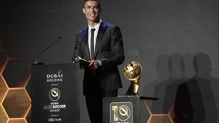 Globe Soccer Awards: Ano de Ouro para Cristiano Ronaldo