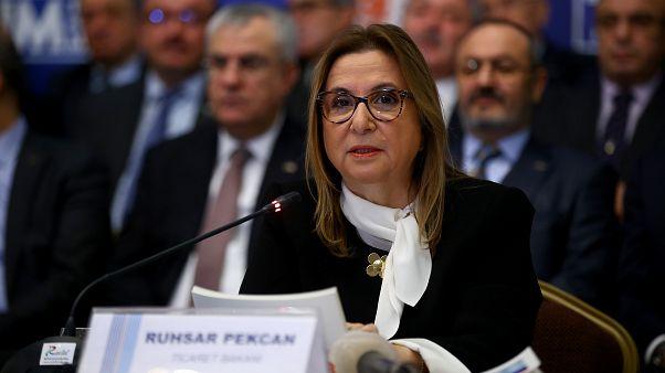 Ticaret Bakanı Pekcan: 2018'de Cumhuriyet tarihinin ihracat rekoru kırıldı