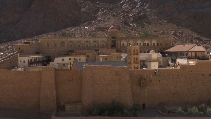 شاهد: دير سانت كاترين بسيناء حيث تحدث النبي موسى مع الله