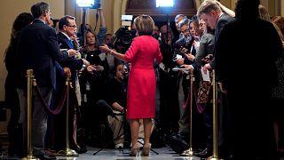 """Bataille parlementaire au sujet du """"shutdown"""""""