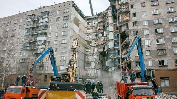 СК не нашел следов взрывчатки на месте обрушения дома в Магнитогорске