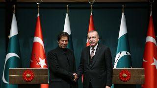 Pakistan Başbakanı İmran Han, Cumhurbaşkanı Erdoğan