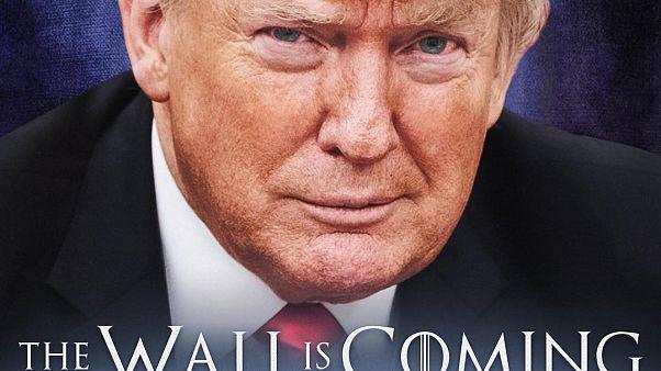 Meksika sınırı için Trump'tan ikinci Game of Thrones göndermesi: Duvar geliyor