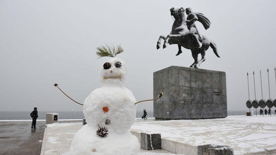 Extrém havazás Görögországban