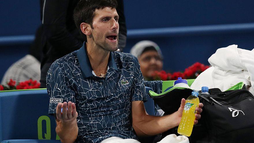 Novak Djokovic'ten Katar Açık Tenis Turnuvası'na sürpriz veda