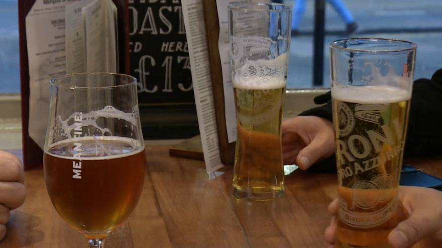 "Brits embrace ""Dry January"" after the festive excess"