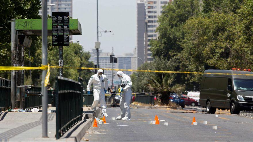 شیلی؛ انفجار بمب در پایتخت دست کم پنج مجروح برجای گذاشت