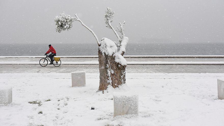 Schnee am Wochenende: Freud oder Leid? 10 Bilder