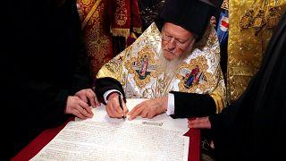 Φανάρι: Υπεγράφη η Αυτοκεφαλία της Ουκρανικής Εκκλησίας