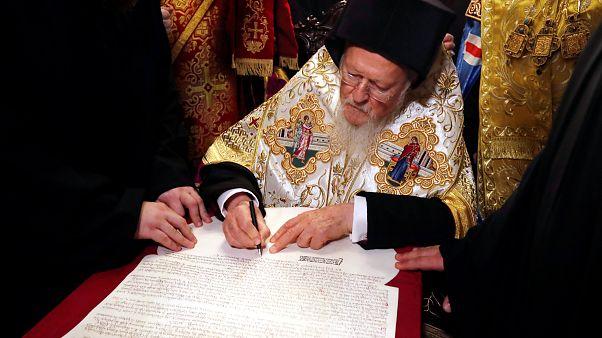 L'église ukrainienne reconnue indépendante