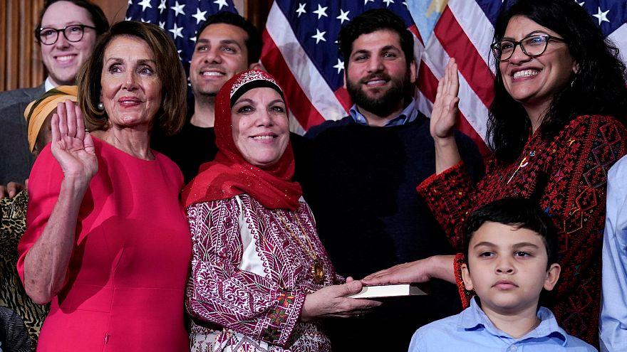 ABD: Kongre'nin ilk Müslüman kadın üyelerinden Tlaib'den Trump'a küfür