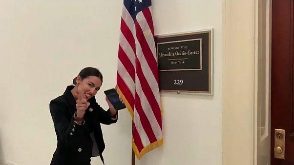 Jüngste Abgeordnete im US-Kongress tanzt Kritikern auf der Nase herum