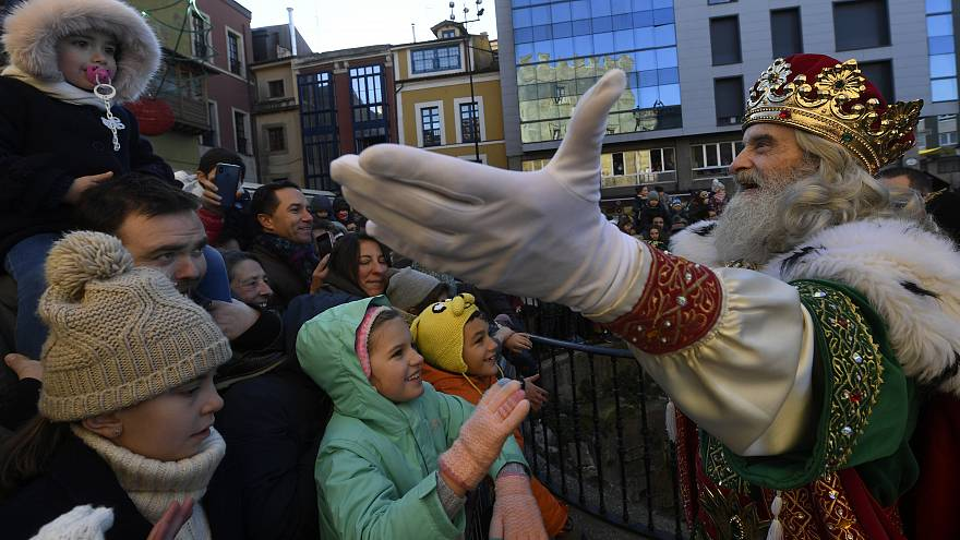 Spain continues Christmas festivities on Three Kings day