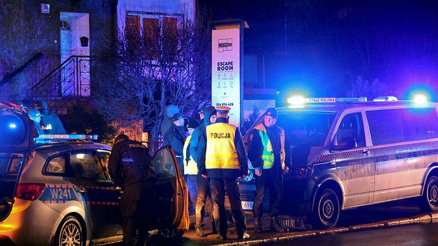 Polonya'da 'Kaçış Oyunu'nda acı son: 5 genç kız yangında hayatını kaybetti