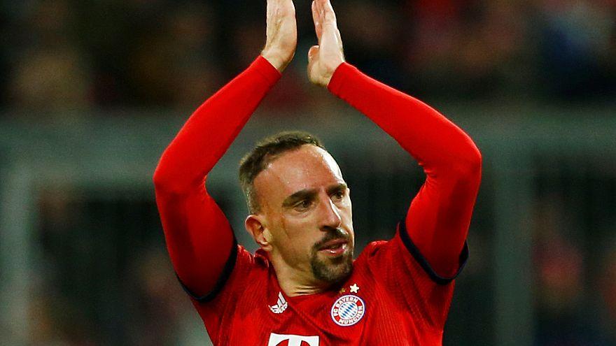 Franck Ribéry castigado pelo Bayern