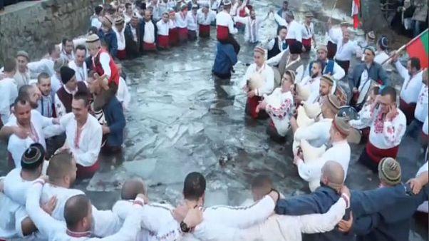 Icy epiphany in Bulgaria