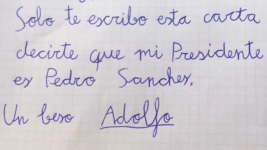 El PP tuitea una carta a los Reyes que pide la muerte de Pedro Sánchez