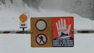 Lavinaveszély Ausztriában és Bajorországban