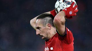 Blattgold, Schimpftirade und Scherze: Ribéry (35) back to business