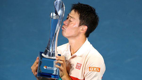 Нисикори победил Медведева в финале турнира ATP