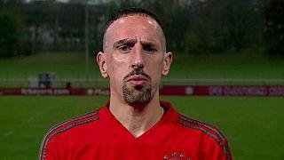 Bayern's Franck Ribery's gold steak rant earns him a heavy fine