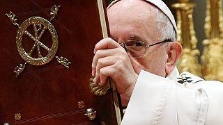 """Papa apela a """"solidariedade concreta"""" para com migrantes"""