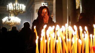 Русская православная церковь отмечает Рождество