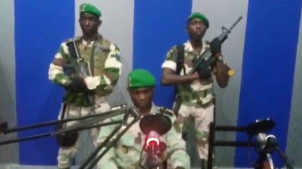Video   Gabon'da askeri darbe girişimi, Hükümet: Durum kontrol altında