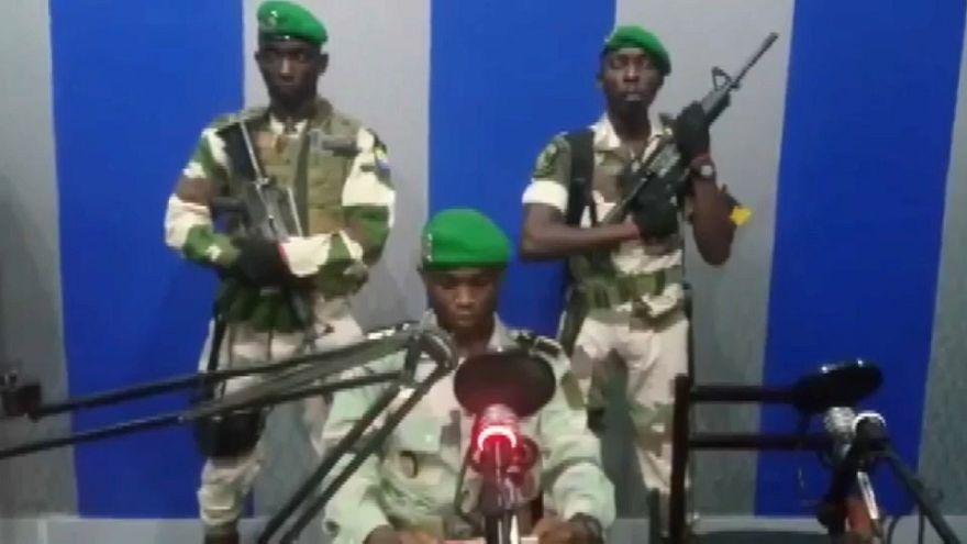 Tentative de coup d'Etat déjouée au Gabon, des putschistes arrêtés