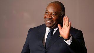 Foto de archivo del presidente de Gabón, Ali Bongo.
