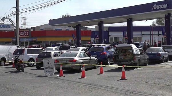 Desabastecimiento de combustible en México