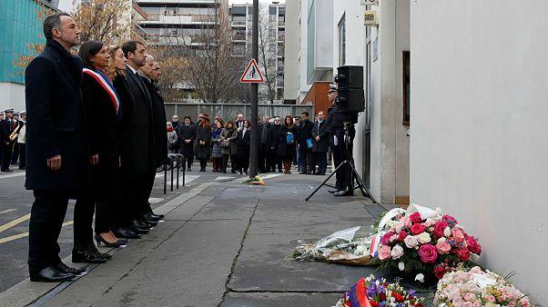 مراسم چهارمین سالگرد حمله شارلی ابدو در پاریس