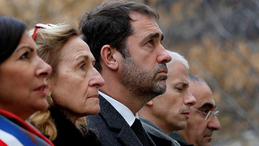 París recuerda el sangriento ataque a la redacción de Charlie Hebdo, cuatro años después