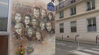 Vier Jahre nach Anschlag auf Charlie Hebdo: Gedenken in Paris