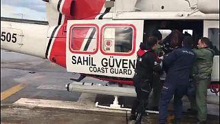 Samsun açıklarında gemi battı: 13 mürettebattan 7'si kurtarıldı