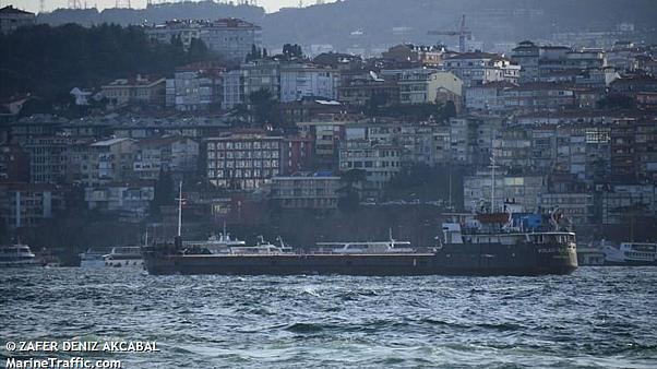 Six killed as cargo ship sinks off Turkey's coast