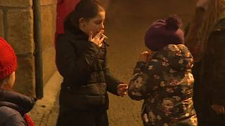 Watch: Children in Portuguese village smoke to celebrate Epiphany