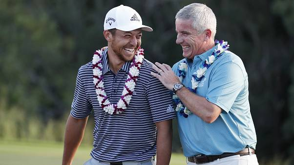 Xander Schauffele dopo la vittoria al Sentry Tournament of Champions