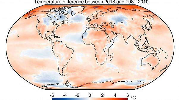 Study finds 2018 was fourth warmest on record: EU's Copernicus