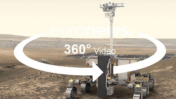 "ВИДЕО 360° | Марсоход ""Розалинд Франклин"" готовится к полёту"