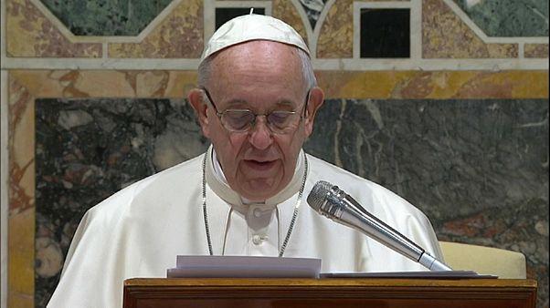 """Papst: """"Missbrauch fegt das Beste weg"""""""