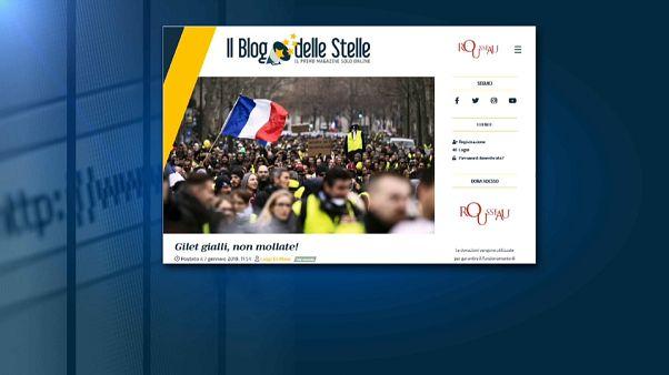 """Gilet Gialli, Di Maio: """"Non mollate, Movimento 5 stelle è con voi"""""""