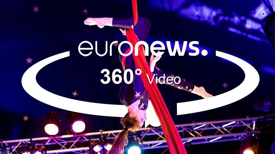 360°-Video | Jedes dritte Berliner Kind ist arm: Dieser Zirkus hilft ihnen, damit zurechtzukommen