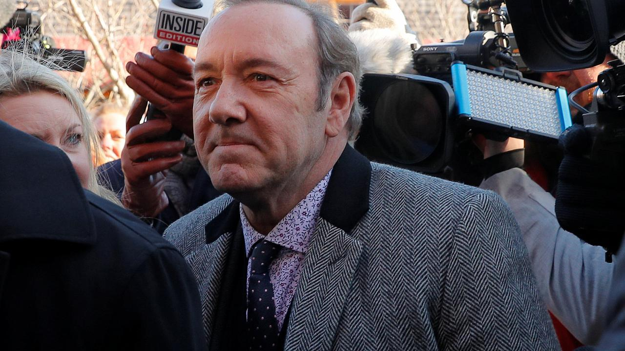 Kevin Spacey appears at courthouse to face sex assault charges