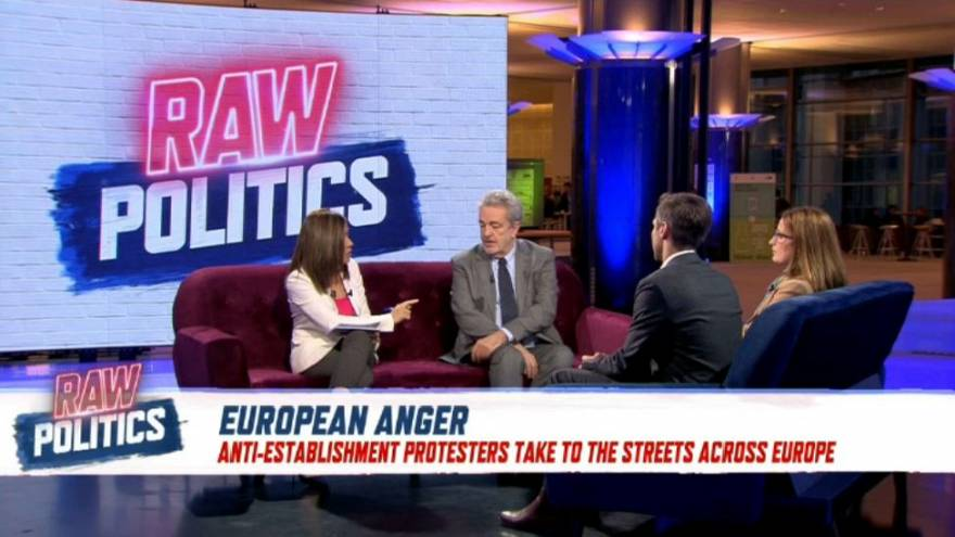 Raw Politics: Europe's anger hangover