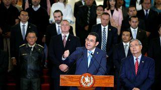 Guatemala yolsuzlukları soruşturan BM destekli komisyonu kapatıyor