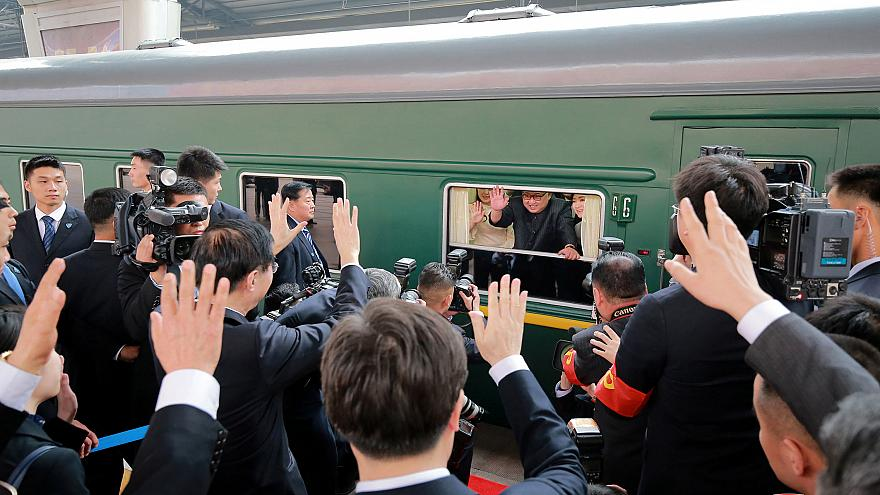 Kuzey Kore Devlet Başkanı Kim Jong Un Çin'de