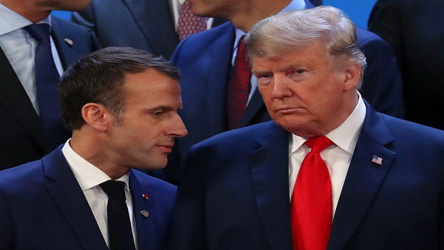 ترامب وماكرون يناقشان خطط انسحاب أمريكا من سوريا