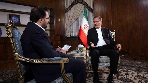 گفتگوی اختصاصی یورونیوز با معاون اول رئیس جمهوری ایران