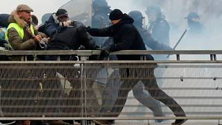 فرانسویها بیش از ۱۱۵ هزار یورو برای مشتزنی که پلیس را کتک زد جمع کردند